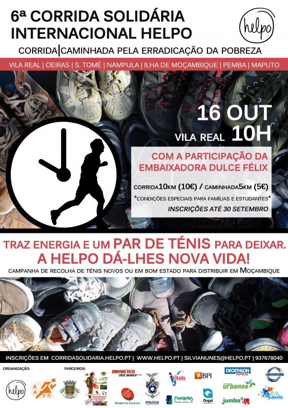 f9da31400 Patrícia Mamona é madrinha da 6ª Corrida Internacional da Helpo em  Moçambique