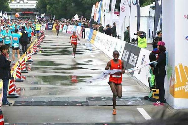 Maratona Xangai