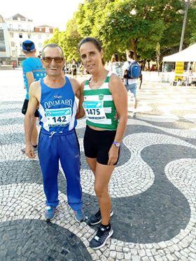 Aires Pratas com Luzia Dias