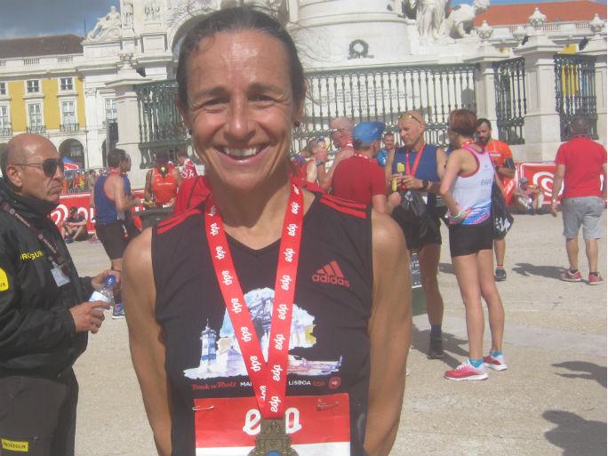 Maratona Lisboa2018-Fernanda Santinha 1