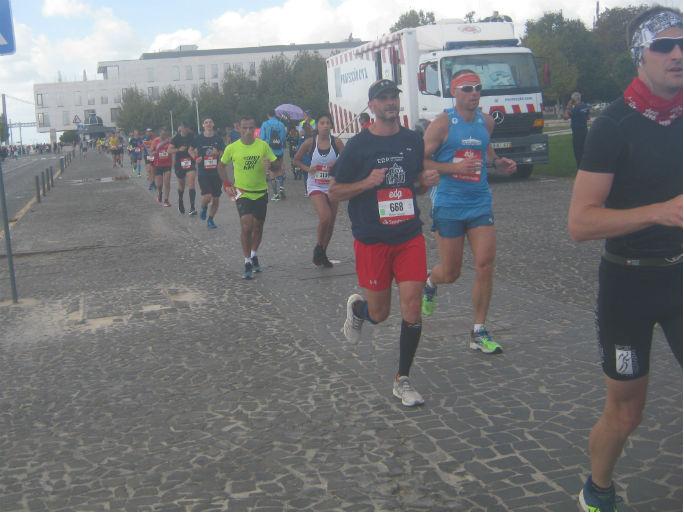 Maratona Lisboa2018-a chegar 1