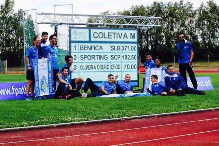 Oliveira Douro-pódio nacional juniores