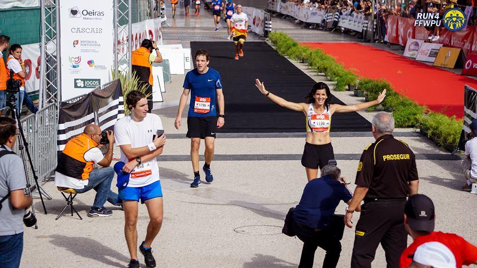 M. José-Chegada meta maratona