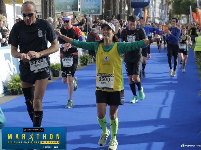 Papagaios-maratona Nice