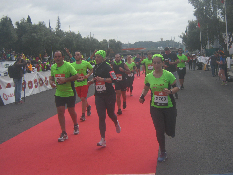 Meia Maratona Lisboa-meta