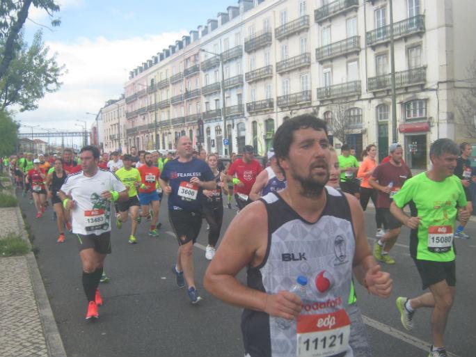 Meia Maratona Lisboa-percurso 1