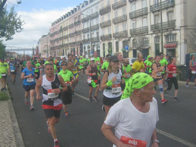 Meia Maratona Lisboa-percurso