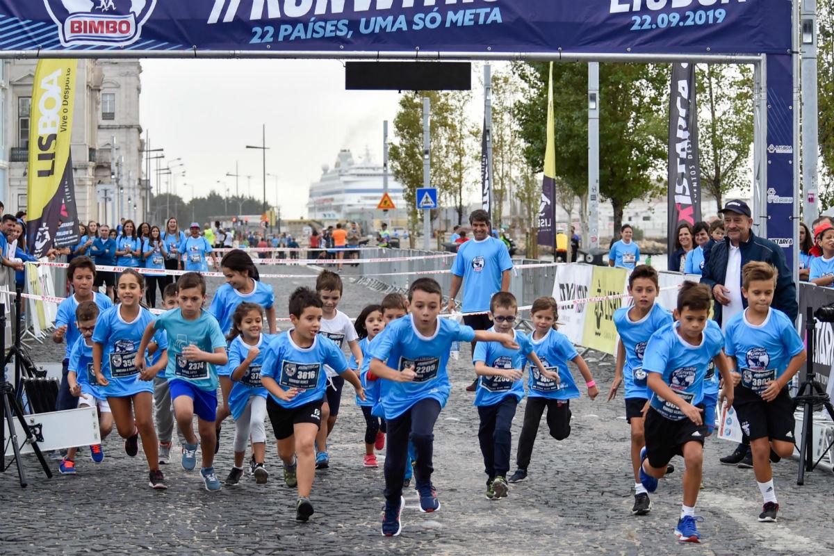 Corrida Bimbo-crianças