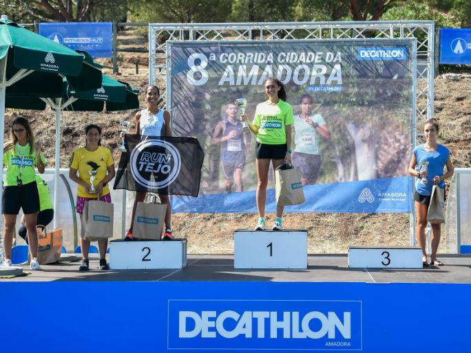 Decathlon - pódio fem