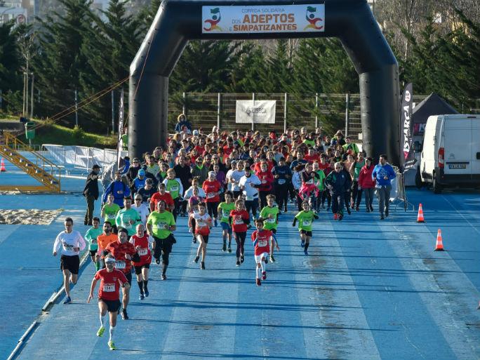 Corrida Adeptos-partida 5kms