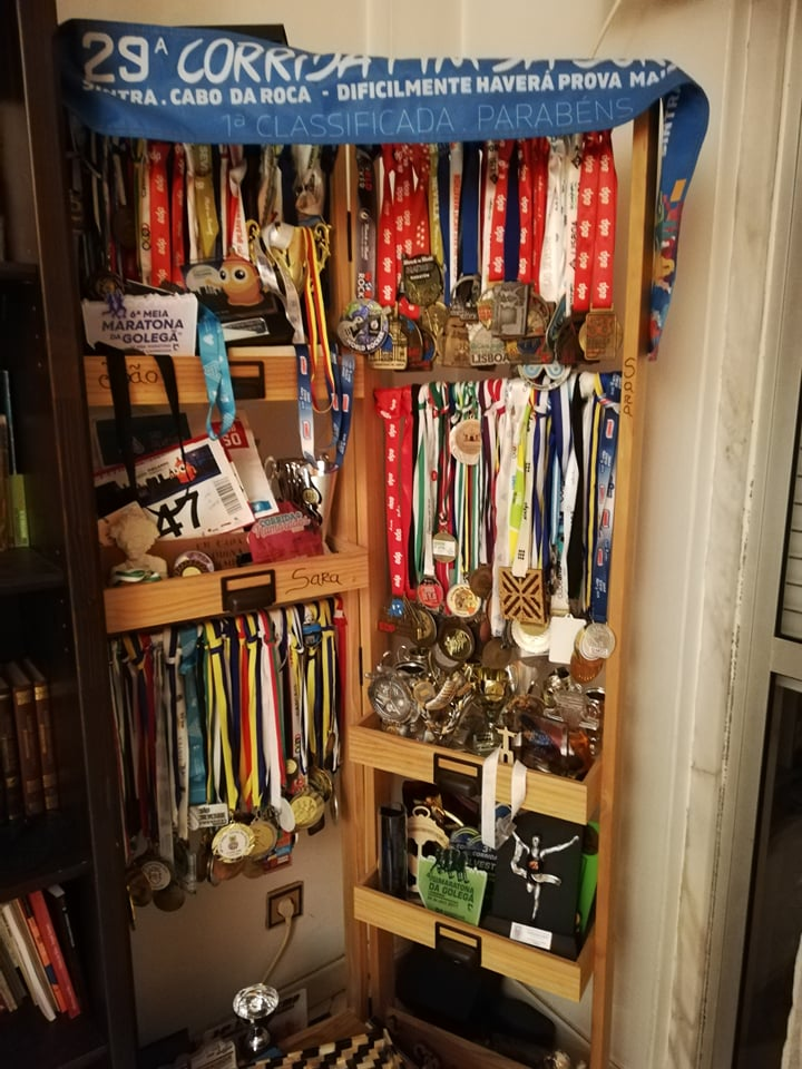 Sara-medalhas