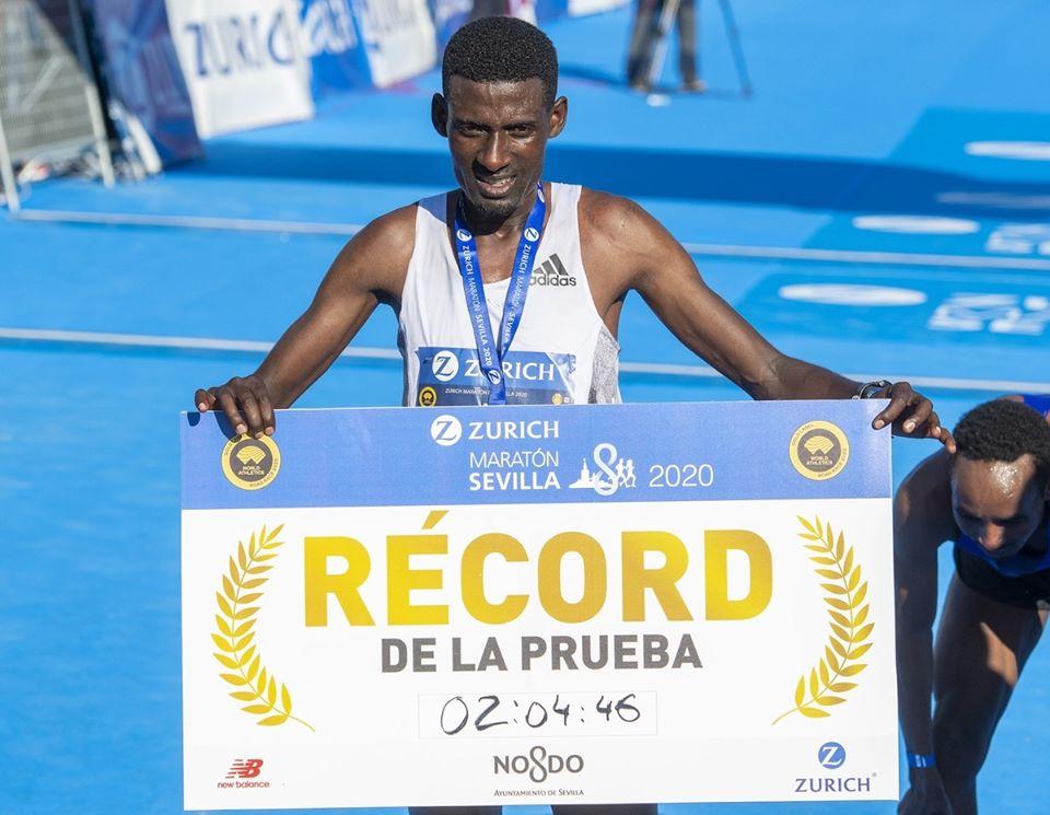 maratona sevilha-record