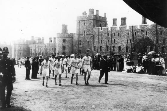 Maratona Londres 1908 - partida