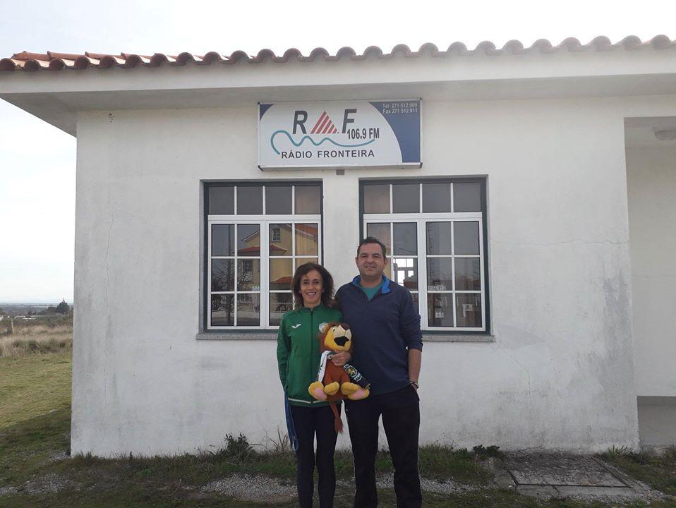 Teresa Bernardo-Com o treinador